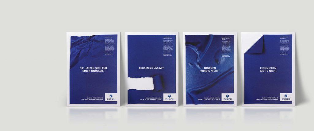 Zurich Versicherung Kampagnen Motive