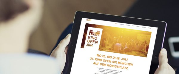 Jungad.Design Kino Open Air