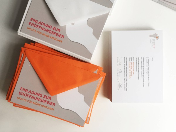 OsteoPro Einladungskarte