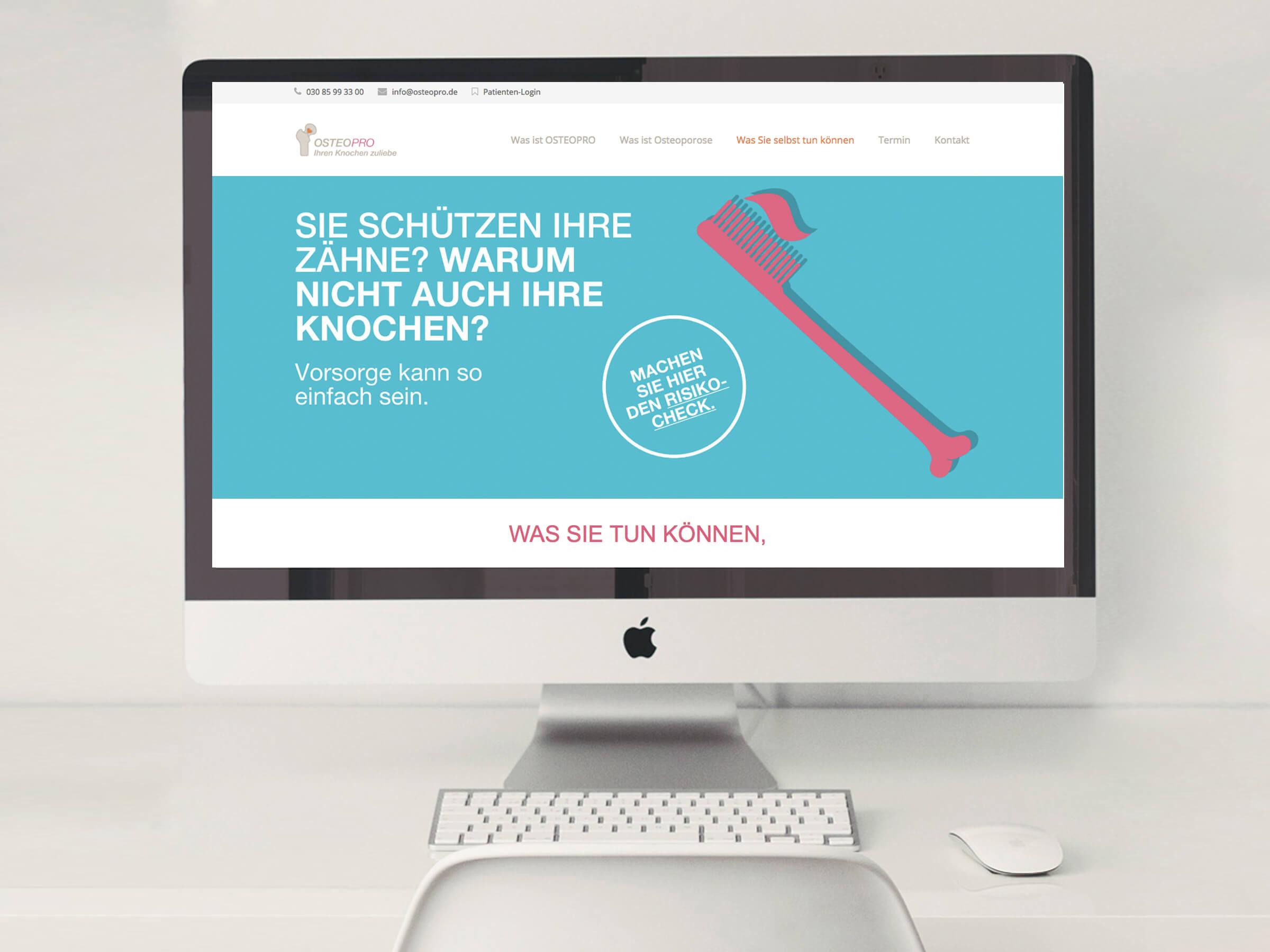 OsteoPro Website