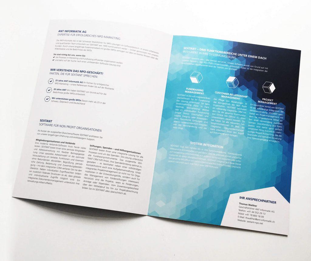 Sextant Broschüre
