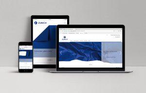 Zurich Versicherung Digitale Medien